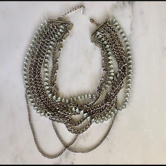 BaubleBar Jewelry - Bold chain & jewel statement necklace